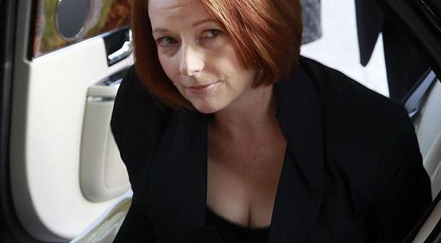 Australian prime minister Julia Gillard is facing a tough political test as she tries to sell the nation on a carbon tax
