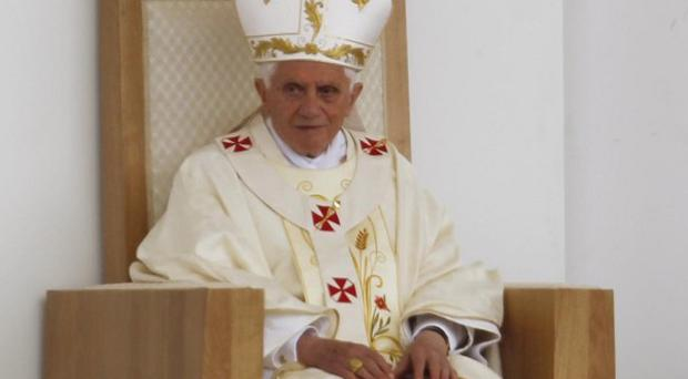 Pope Benedict XVI has denounced the 'disintegration' of family life in Europe (AP)