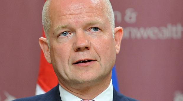 William Hague says there is no 'mission creep' in Libya