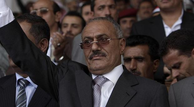 Yemeni President Ali Abdullah Saleh has accepted an offer from the Saudi king to get medical treatment (AP)