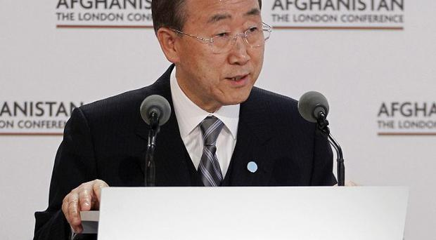 Ban Ki-moon wants a second term as secretary-general