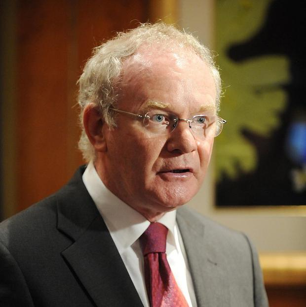 A bomb blast in Londonderry occurred close to a house occupied by Martin McGuinness's niece