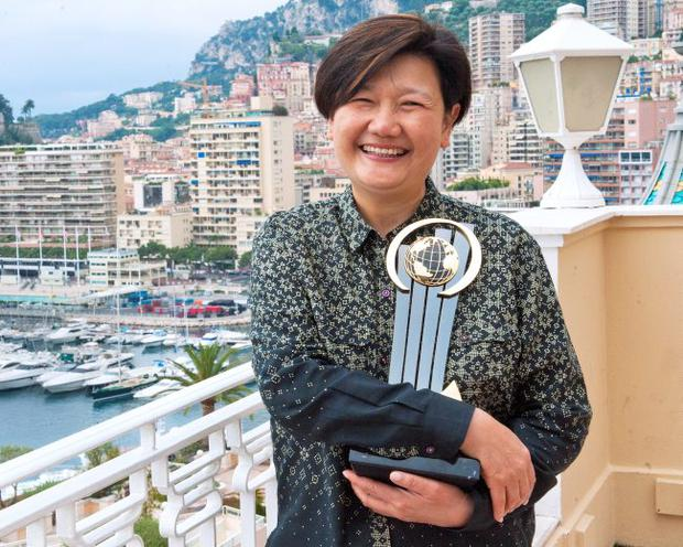 Olivia Lum was named World Entrepreneur of the Year at this year's awards