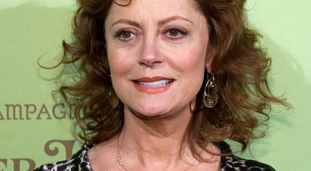 Susan Sarandon is heading to China to play table tennis