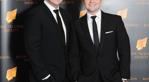 Anthony McPartlin and Declan Donnelly hosted the Britain's Got Talent final