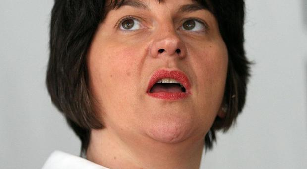 Arlene Foster welcomed Micro Focus UK's decision to double its workforce in Belfast