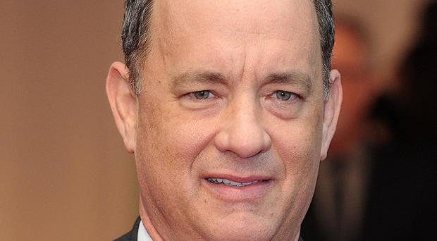 Tom Hanks arriving for the World Premiere of Larry Crowne