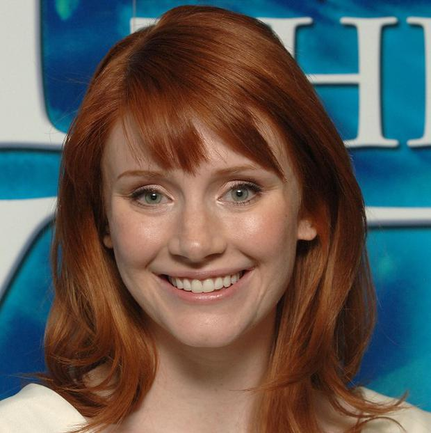 Bryce Dallas Howard has been feeling a little queasy