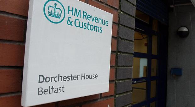 Tax office staff are protesting against changes to sickness policy