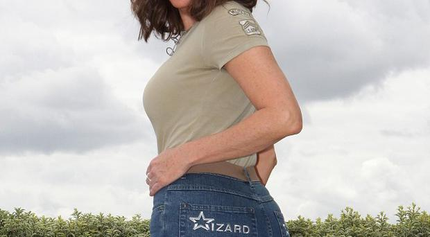Carol Vorderman has been named Rear of the Year