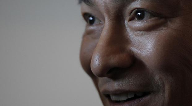 Hong Kong actor Andy Lau who stars in China's new film about its Communist Party(AP)