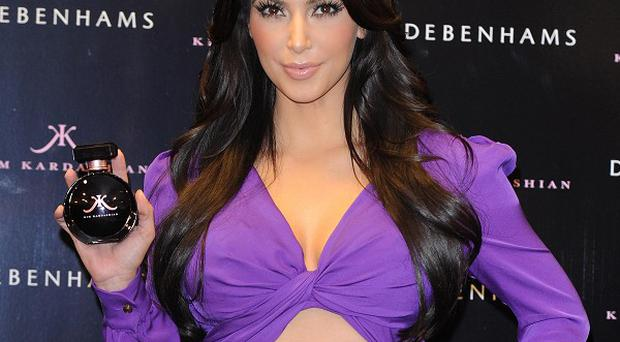 Kim Kardashian attracted hundreds of fans to Oxford Street