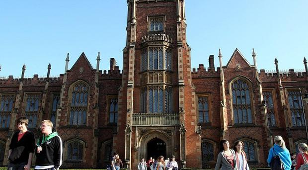 Departments will be axed at Queen's University in Belfast if the cap on tuition fees is retained without new Government funding, warns minister