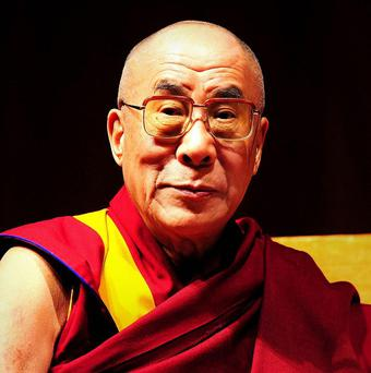 The Dalai Lama says his enemy is some hardline Communists, not China