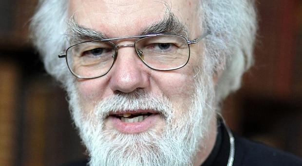 The Prime Minister said he 'profoundly disagreed' with many of the comments Dr Rowan Williams made