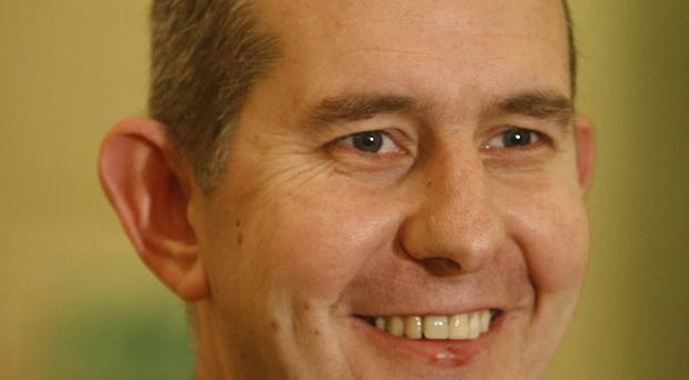 Health minister Edwin Poots is facing a 177 million pound shortfall