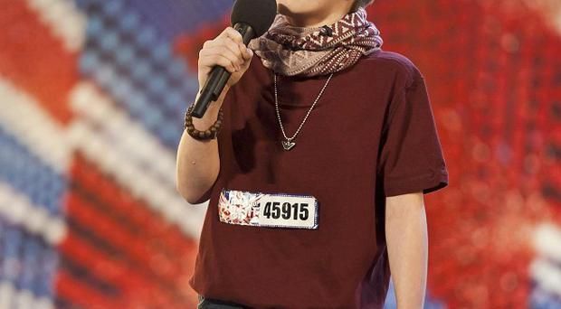 Undated Talkback Thames handout photo of contestant Ronan Parke auditioning for the ITV programme Britain's Got Talent. PRESS ASSOCIATION Photo. Issue date: Friday June 3, 2011. Simon Cowell who has called in police over claims that popular TV contest Britain's Got Talent is fixed. The panel judge made the complaint to officers after an anonymous internet blogger alleged that show favourite Ronan Parke had been groomed for stardom. See PA story POLICE Talent. Photo credit should read: Ken McKay/Talkback Thames/PA Wire NOTE TO EDITORS: This handout photo may only be used in for editorial reporting purposes for the contemporaneous illustration of events, things or the people in the image or facts mentioned in the caption. Reuse of the picture may require further permission from the copyright holder.