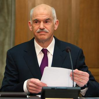 The latest round of austerity measures are 'the fairest possible solution' said Greek prime minister George Papandreou (AP)