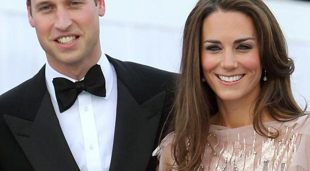 The Duke and Duchess of Cambridge arrive at the Ark gala dinner