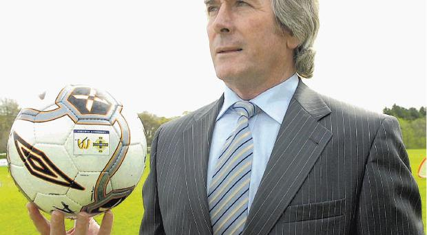 Pat Jennings still looks like he could do a good job in goal for Northern Ireland