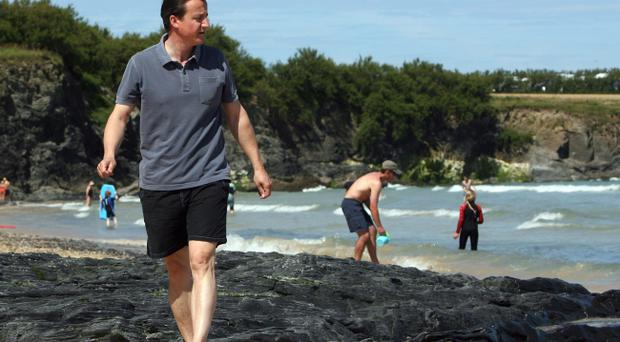 David Cameron: No 10 have denied he went skinny-dipping