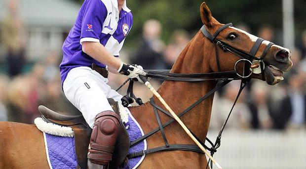Prince Harry and the Duke of Cambridge will take part in a charity polo tournament