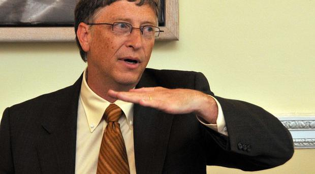 Business chief and philanthropist Bill Gates is in an optimistic mood ahead of a global conference on vaccines