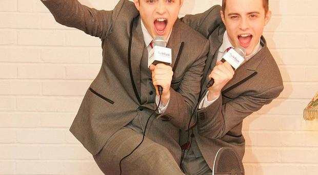 Jedward think they might need better teeth to crack the US