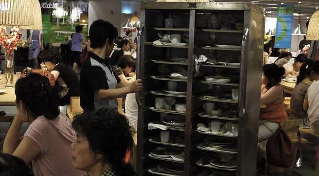 China's inflation has rebounded to its highest level in nearly three years, buoyed by stubbornly high food prices (AP)