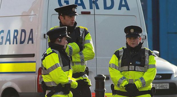 Five men have been arrested in an operation against organised crime