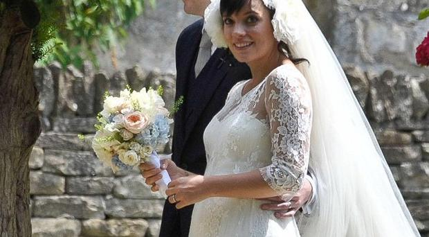 Lily Allen changed her name on her Twitter profile after an 'amazing wedding' to Sam Cooper
