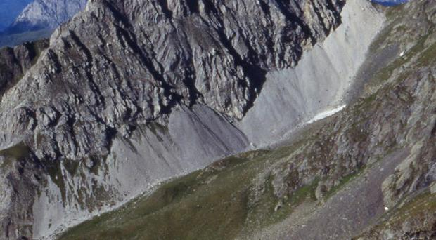 The Rosskopf mountain in Kartisch, eastern Tyrol, Austria, that was put up for sale along with a neighboring mountain(AP)