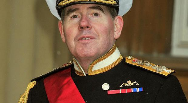 Head of the Royal Navy Admiral Sir Mark Stanhope says the Government has 'challenging decisions' to make over Libya