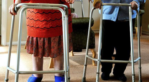 Some elderly people would not report abuse by their children because they dread the prospect of life in a nursing home, a new report suggests