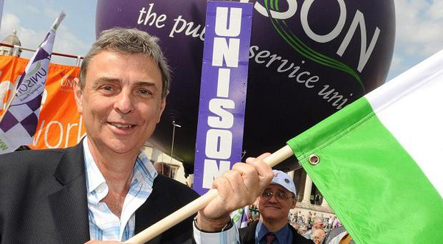 Unison general secretary Dave Prentis says 'workers are stuck in a living hell'