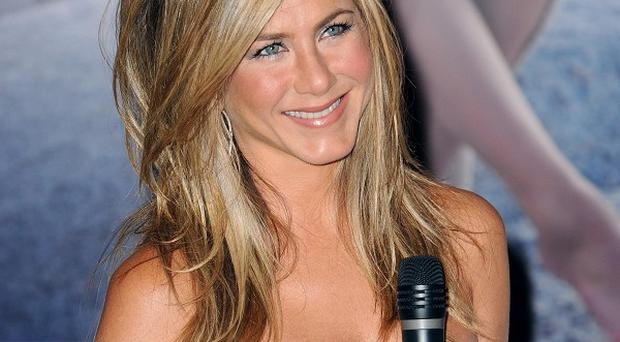 Jennifer Aniston proved popular with customers despite her mishaps