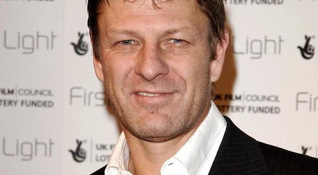 Sean Bean was apparently left with a bruised face and cut arm