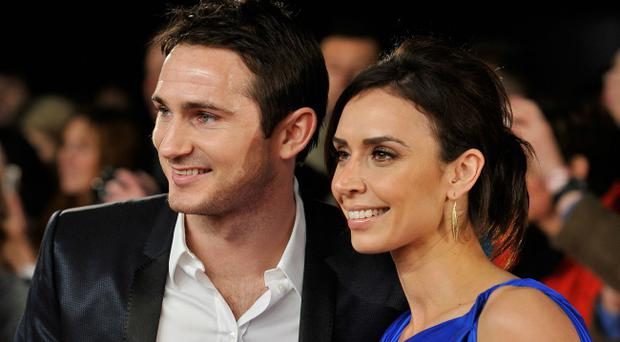 Christine Bleakley has become engaged to her boyfriend, Chelsea footballer Frank Lampard