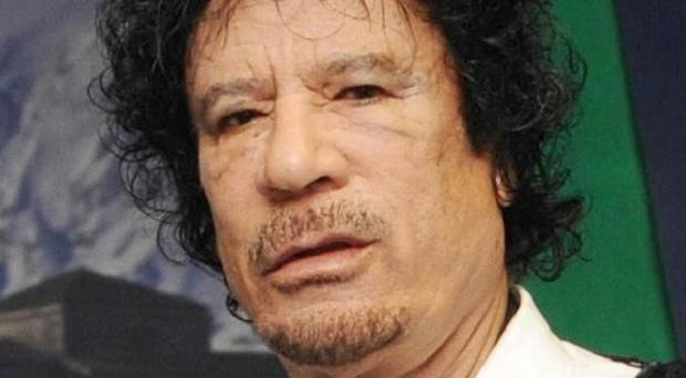 Libyan leader Colonel Muammar Gaddafi will not be coming to the London 2012 Olympics, the Government has said