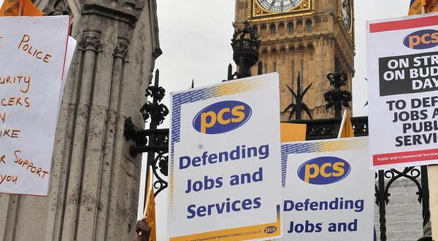 Civil servants have joined teachers in voting in favour of strikes