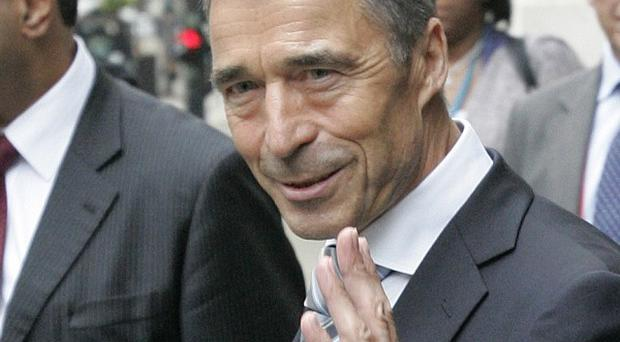 Nato Secretary General Anders Fogh Rasmussen said plans for a European ballistic missile defence shield were not a threat to Russia (AP)