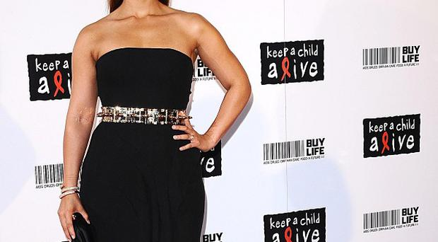 Alicia Keys arrives for the Keep A Child Alive Black Ball, at The Roundhouse, Chalk Farm Road, London