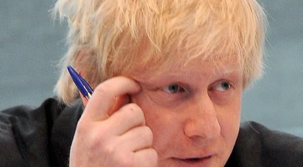 One of Boris Johnson's aides has resigned over comments he allegedly made about shoplifting from high street chains