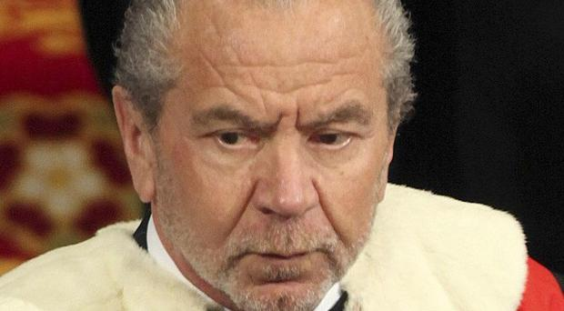 Lord Sugar says newspaper editors, directors and proprietors should face prison sentences over the phone hacking scandal