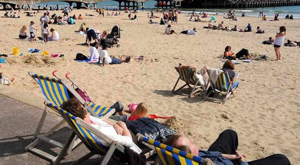 A survey has found that 40 per cent of teenagers think it is OK to lie in the sun unprotected for up to two hours