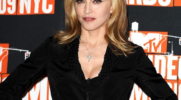 Madonna has just finished working on her new film