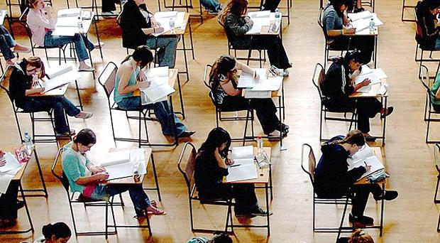 The Education Secretary has said exams have become easier and the testing system is now 'discredited'