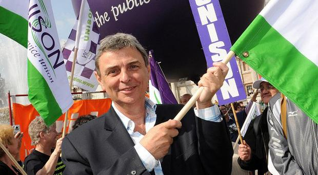 Britain will see its biggest wave of industrial action since the 1926 general strike, says Unison leader Dave Prentis