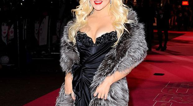 Christina Aguilera is one of the judges on the US version of the show