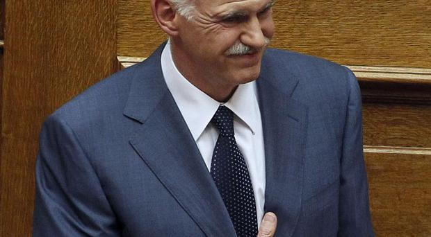 Greek Prime Minister George Papandreou is braced for more political unrest (AP)